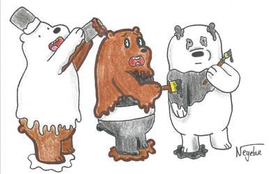 We Bare Bears by Neyebur