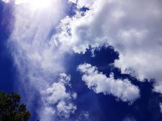 Afternoon Skies by MindlessAngel