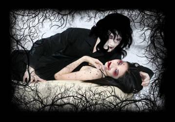 Vampire love by GothDream