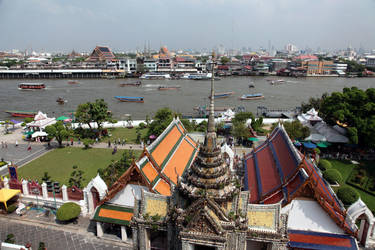 Indochina Cityscapes I by puppeteerHH