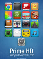 Prime HD Icons by Caseyls