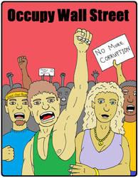 Occupy Wall Street by backerman