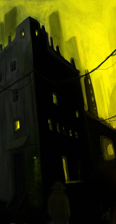 Alley by jucari