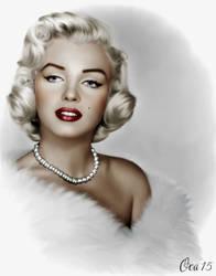 Marilyn Monroe by OKA1974