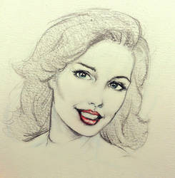 Pencil potrait sketch #2 by girib