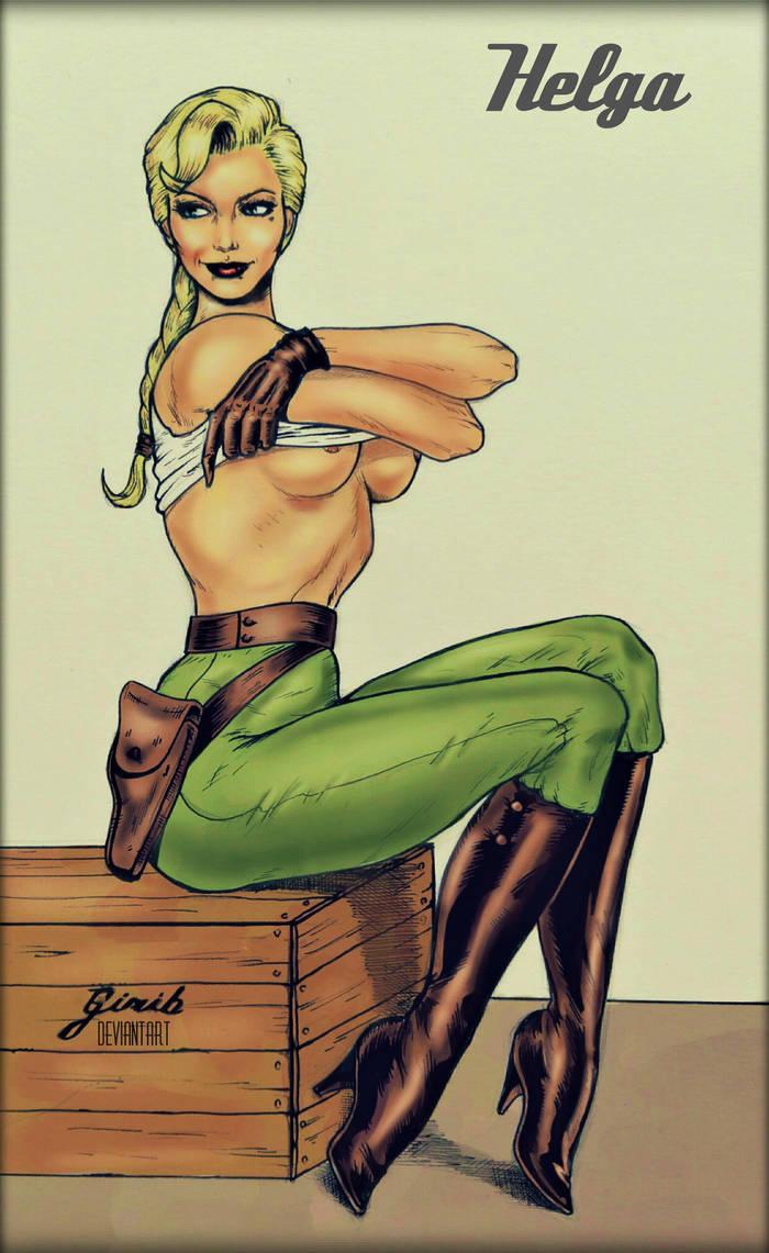 Helga Sinclair by girib