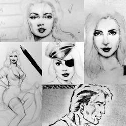 Some sketch by girib