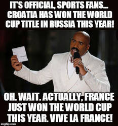 World Cup Final 2018 in a Nutshell by MatthewJabezNazarioA