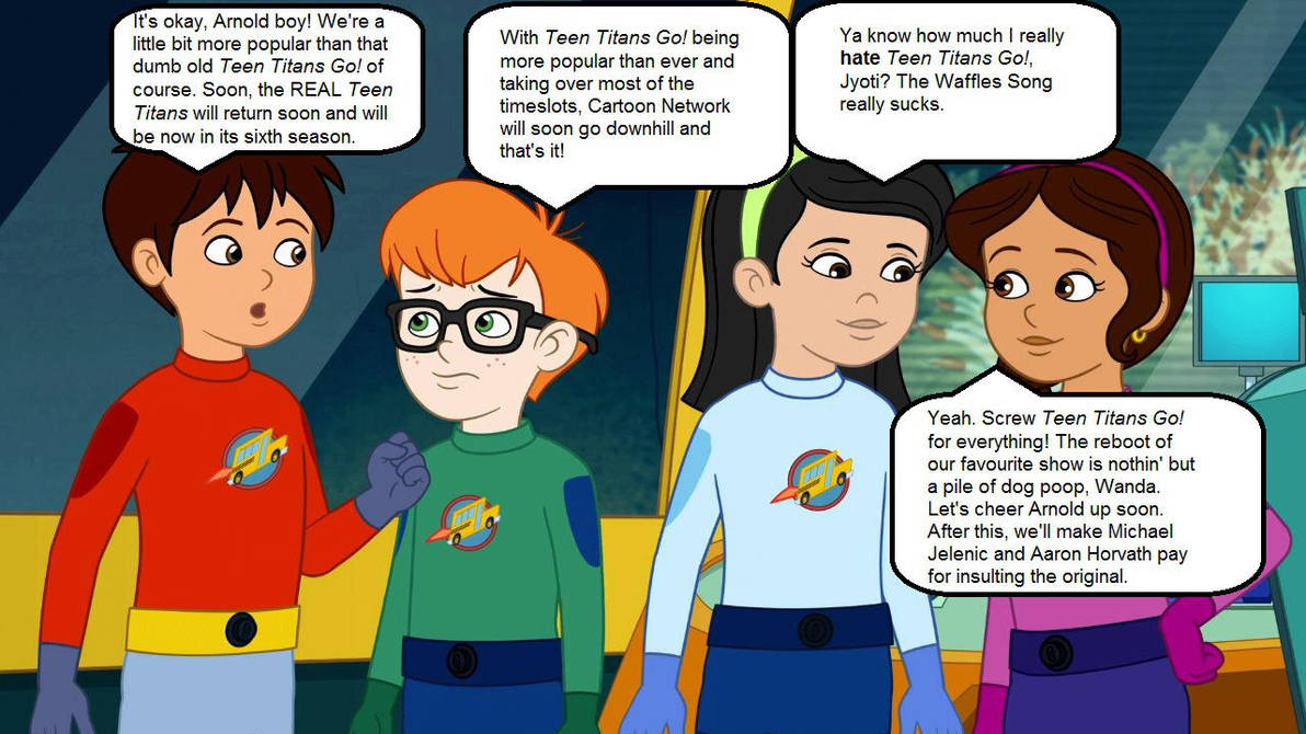 Arnold's Uncertainty About Teen Titans by MatthewJabezNazarioA