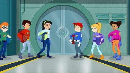 The Crew of the Rah-Rah-Robot by MatthewJabezNazarioA