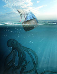 Beneath The Ocean by tcaliloria