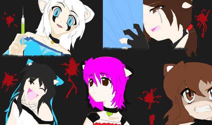 higurashi trio? by Shadana