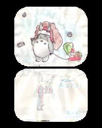 Totoro Claus by Miroyoshi