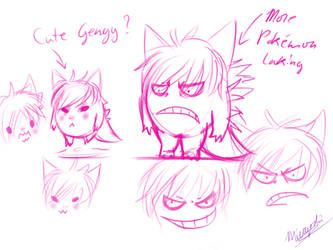 Gengy doodlings by Miroyoshi