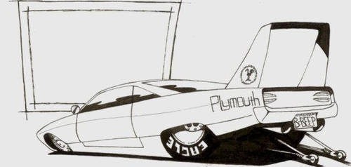 Plymouth Superbird by rickster3rd