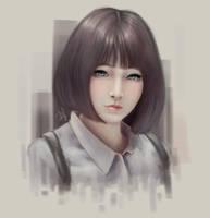 Asian Portrait Practice by steviantoos
