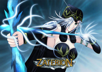 Ashe - Leage of Legends by Zaterion