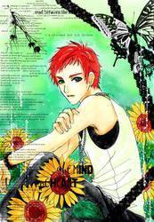 Sunflower boy by tranmai