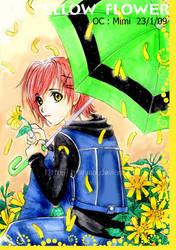 Yellow flower by tranmai