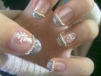 Xmas nails by tranmai