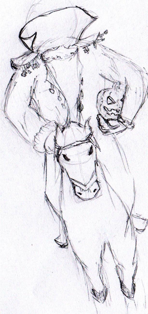 The headless horseman by FrankHightower