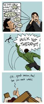 Tony's Therapy by tee-kyrin