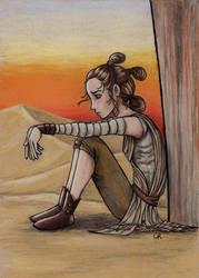 Rey by tee-kyrin