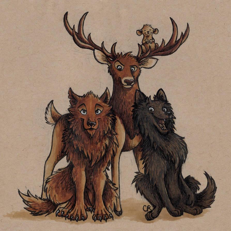 The Marauders by tee-kyrin