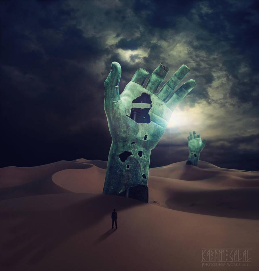 Stranger in a Strange Land by kimoz