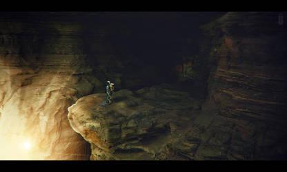 The Sacred Cave II by kimoz