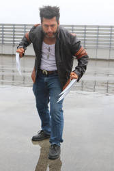 Wolverine/Logan Cosplay by Packwood