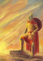 Sun warrior by daga-ra