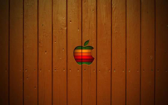 Mac Wallpaper Wooden style by ulrikstoch