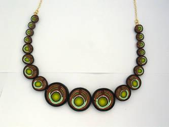 Millefiori Necklace by ezo