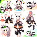 SketchPageBBPP PandaTanuki Auction[Closed] by Maruuki