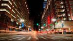 Cruising Woodward in Downtown Detroit by JeffreyDobbs