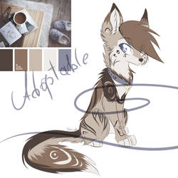 Adoptable Wolf (130 points) [Closed] by ElisaWind