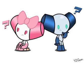 [Cartoon Network Characters]Robotboy and Robotgirl by RapBattleEditor0510