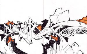 sketch in Fezat blackboof by BeTaOnEr