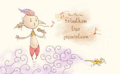 Singing Djinn by junweise