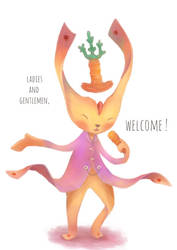Welcome! by junweise