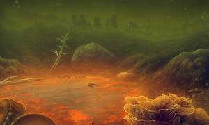 Deep in the Glowing Sea by Doomed-Dreamer