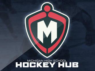 Michigan High School Hockey Hub Logo by nessmasta