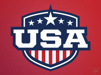 USA Shield by nessmasta