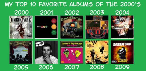Favorite 2000s Albums by YDKJGuy-Towers