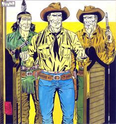 Tex Cover 6 - Galaksi Yayinci. by aliduzgun