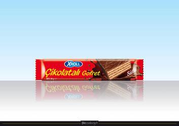 XROLL Chocolate Wafer by aliduzgun