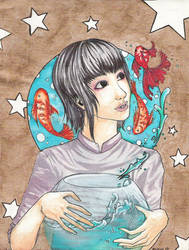Fishes from falling stars by the-judge-rukya
