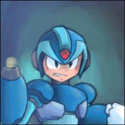 Mega Man X by Shouren