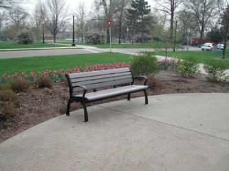 A Park Bench by dlinkwit27